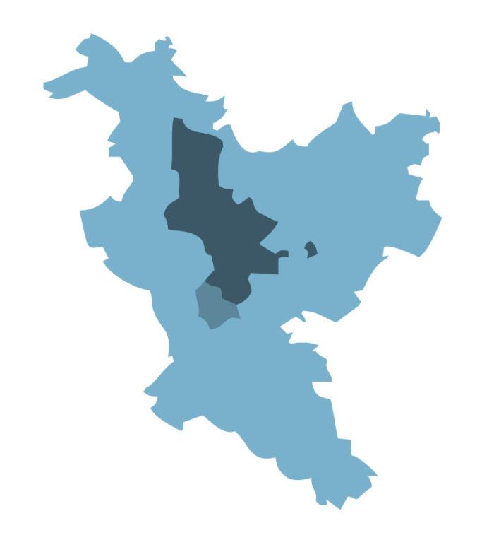 Urban Center, Metropole und Functional Urban Area Nürnberg