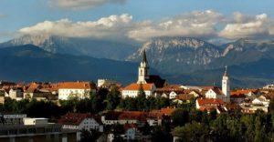 Ansicht des Zentrums von Kranj von Nutzer Informator des slowenischen Wikipedia, CC-BY-SA 3.0